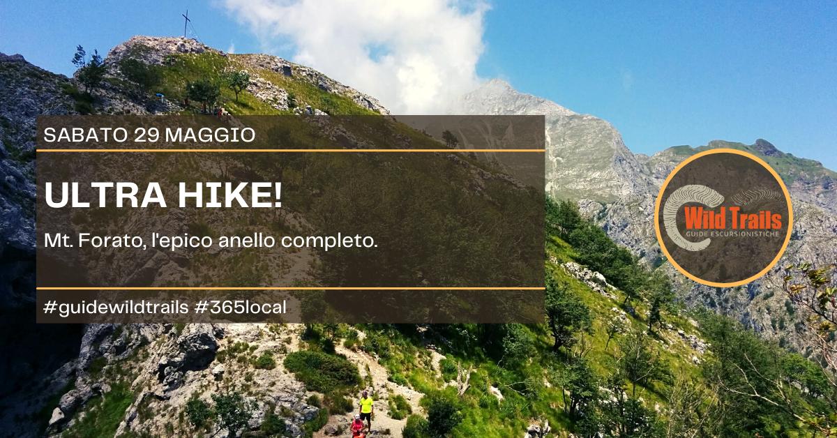 Ultra Hike! Mt. Forato inimitabile